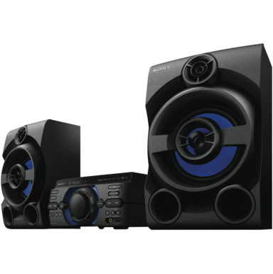 sony home audio system 390w. Black Bedroom Furniture Sets. Home Design Ideas